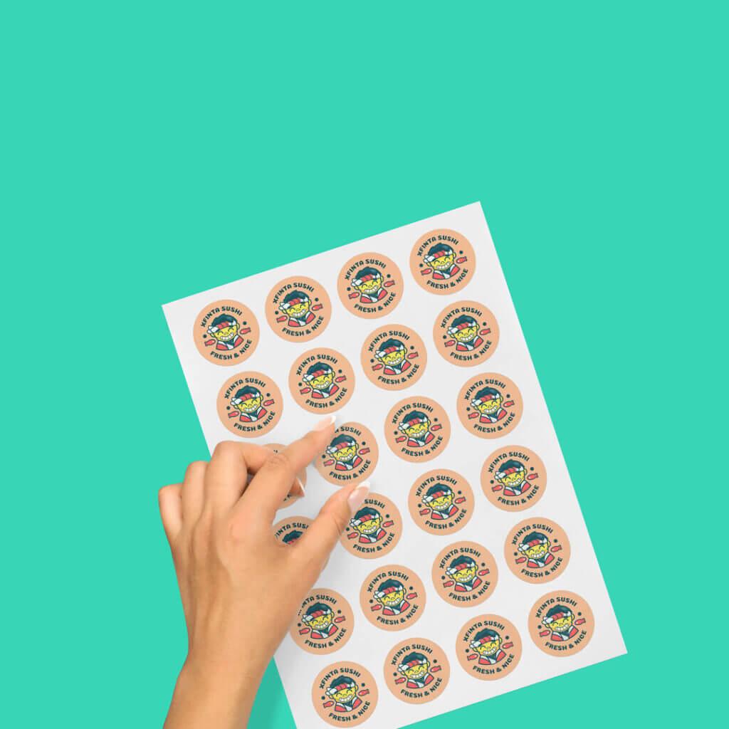 stampa adesivi personalizzati