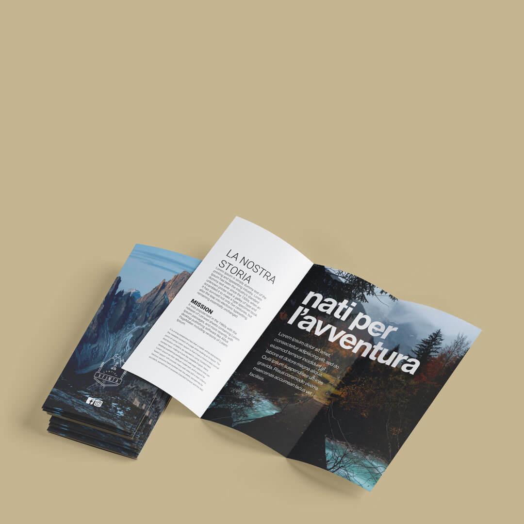 brochure - depliant- pieghevoli