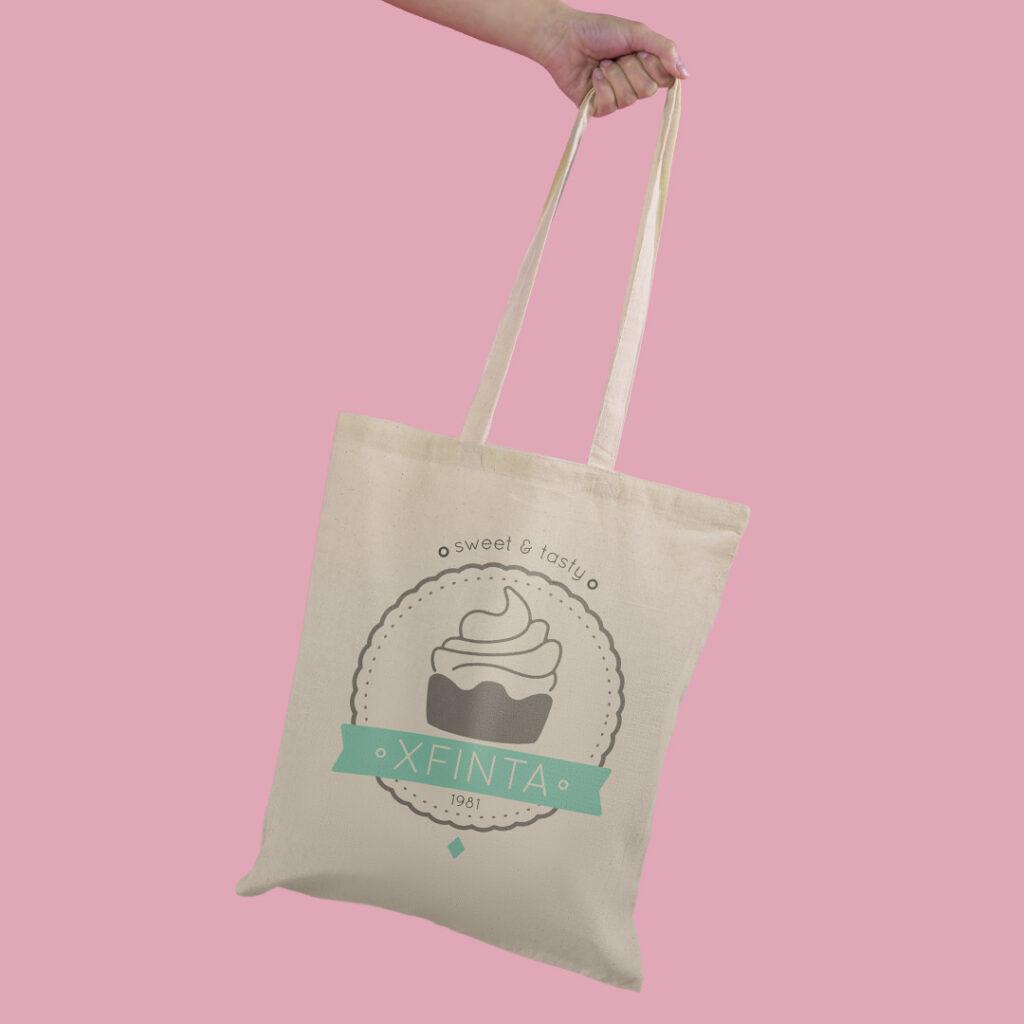 shopper cotone personalizzata
