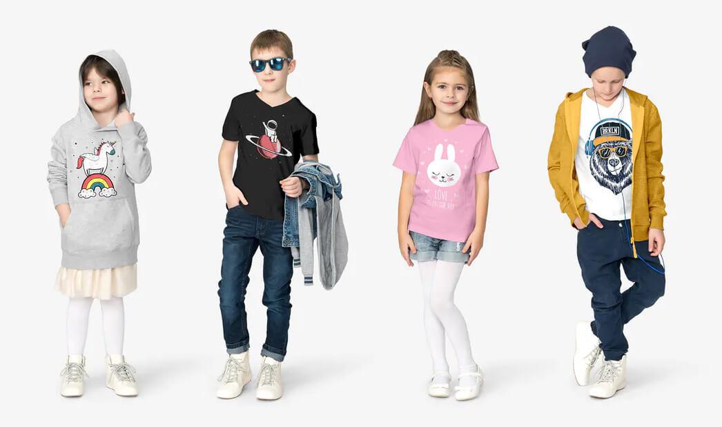 abbigliamento personalizzato bambini