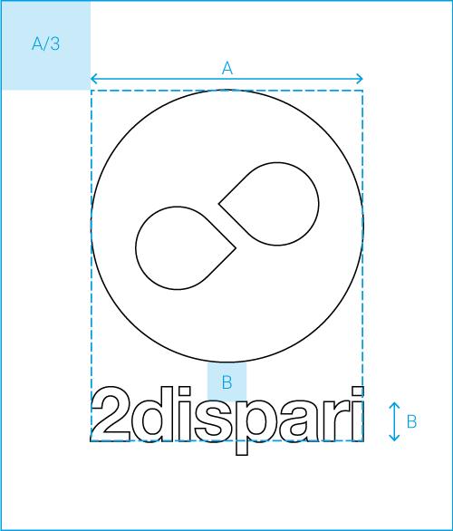 schema logo 2dispari