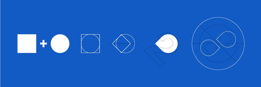schema realizzazione logo 2dispari